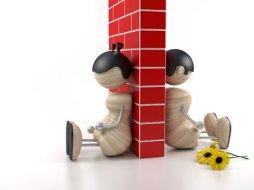 parella amb mur
